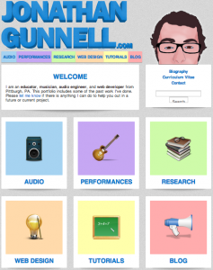 jonathangunnell.com Screenshot