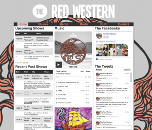 theredwestern.net screenshot