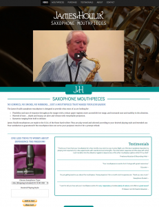 James Houlik Saxophone Mouthpieces